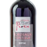 Bordeaux Château de Piote 100% Cabernet Sauvignon Rouge